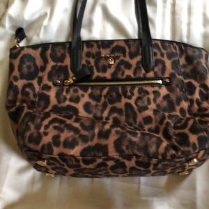 Michael Kors leopard medium sized tote.